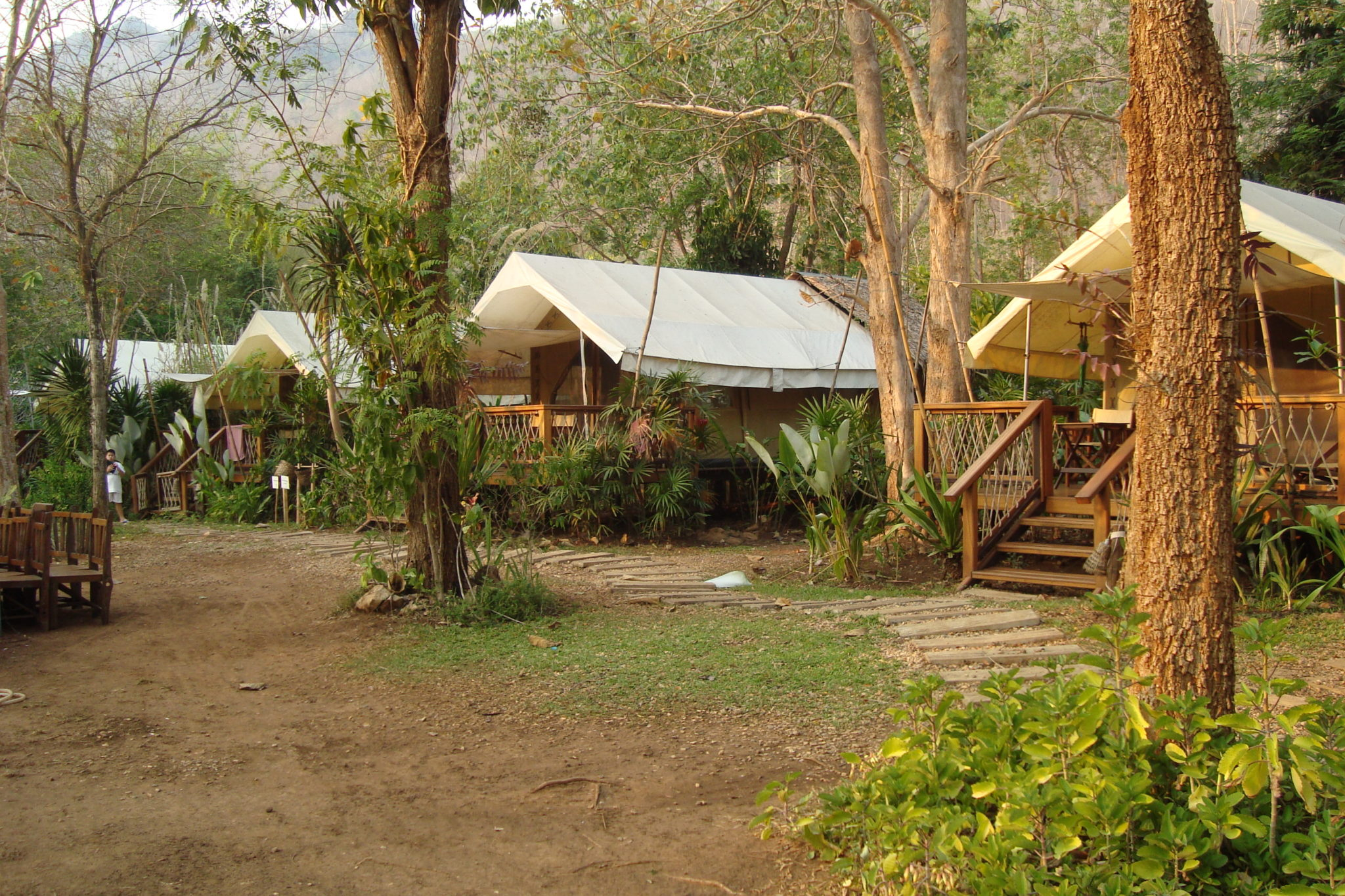 Hintok River Camp, Thailand