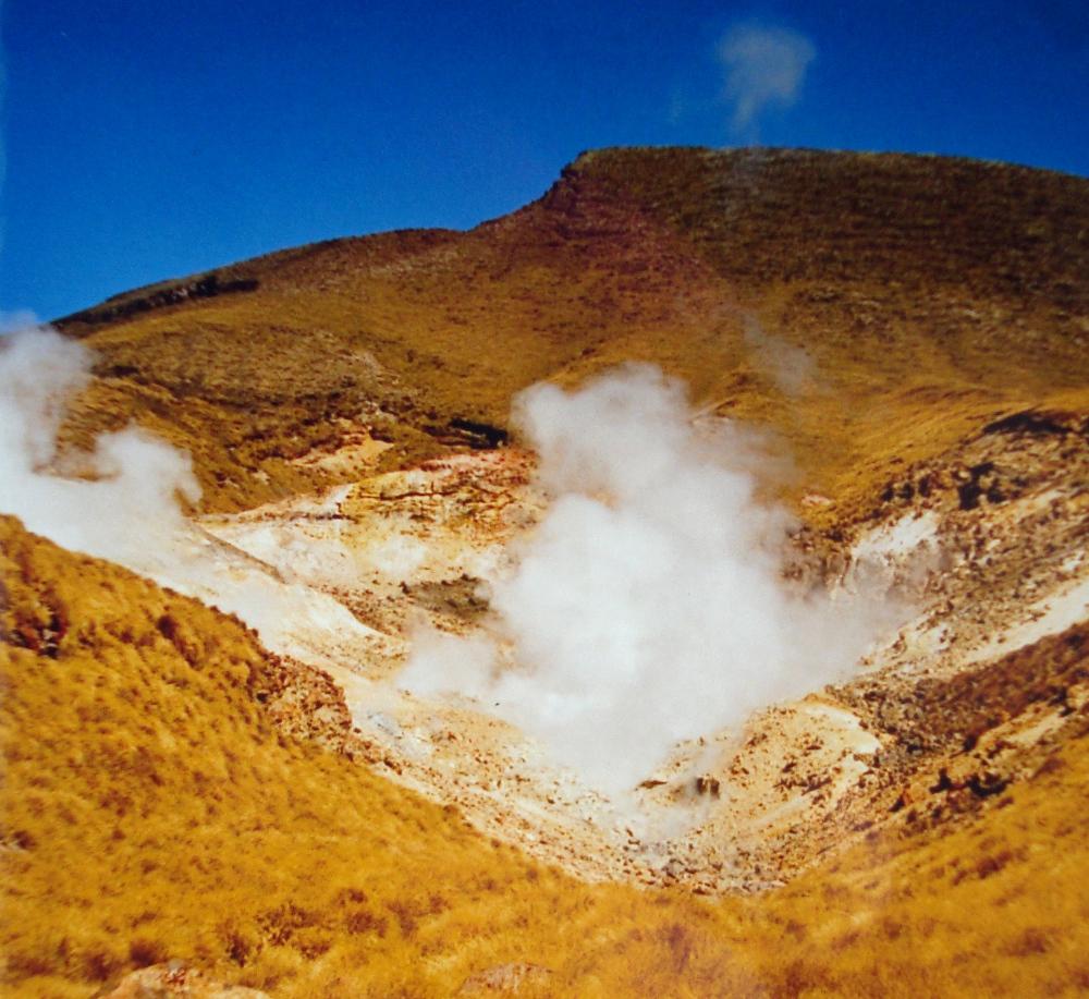 Hot springs, Tongariro Crossing, New Zealand