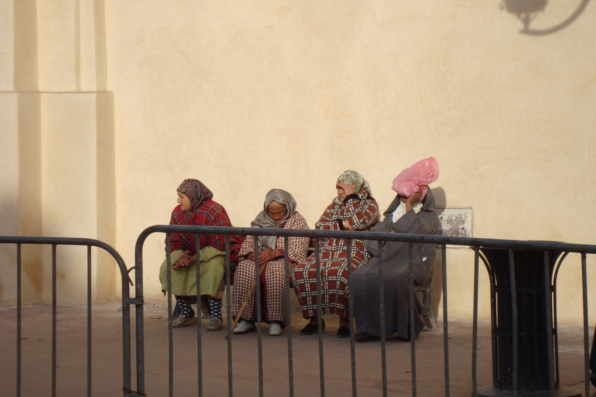 4 ladies in Morroco