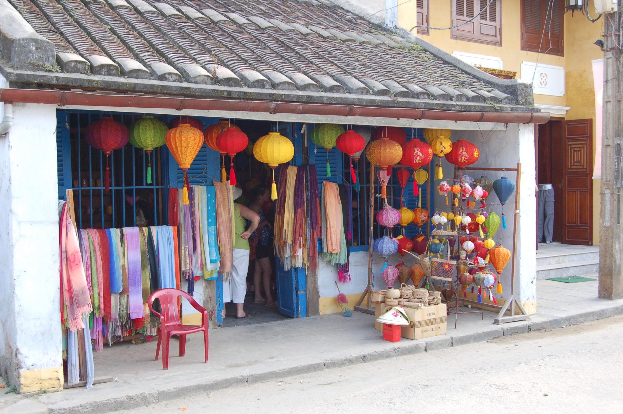 Lsntern shop, Hoi An, Vietnam