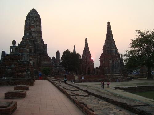 Wat Chau Wattanarm, Ayutthaya, Thailand