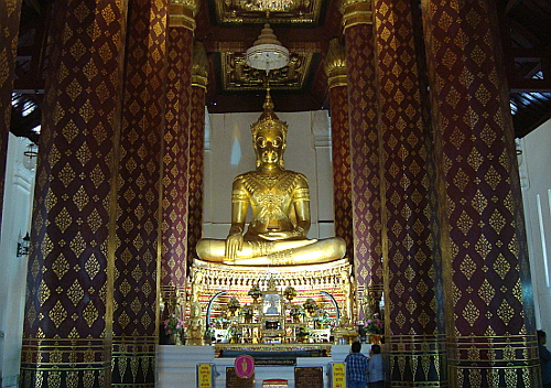 Wat Na Phramen with the Golden Buddha, Ayutthaya, Thailand