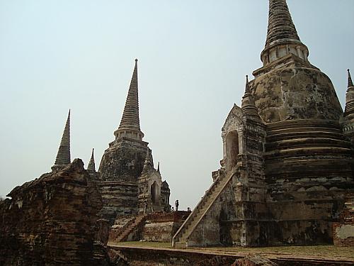 Wat Phra Si Sanphet, Ayutthaya, Thaialand