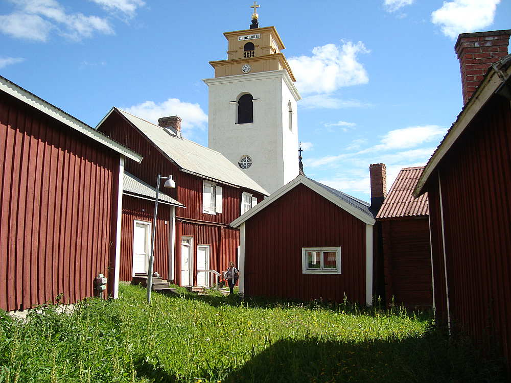 Gammelstad Churchtown, Sweden