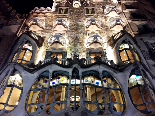 Casa Batlló from the outside, Barcelona