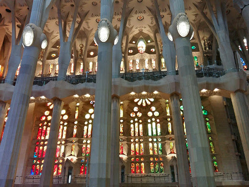 Weird but impressive, Sagrada Familia, Barcelona