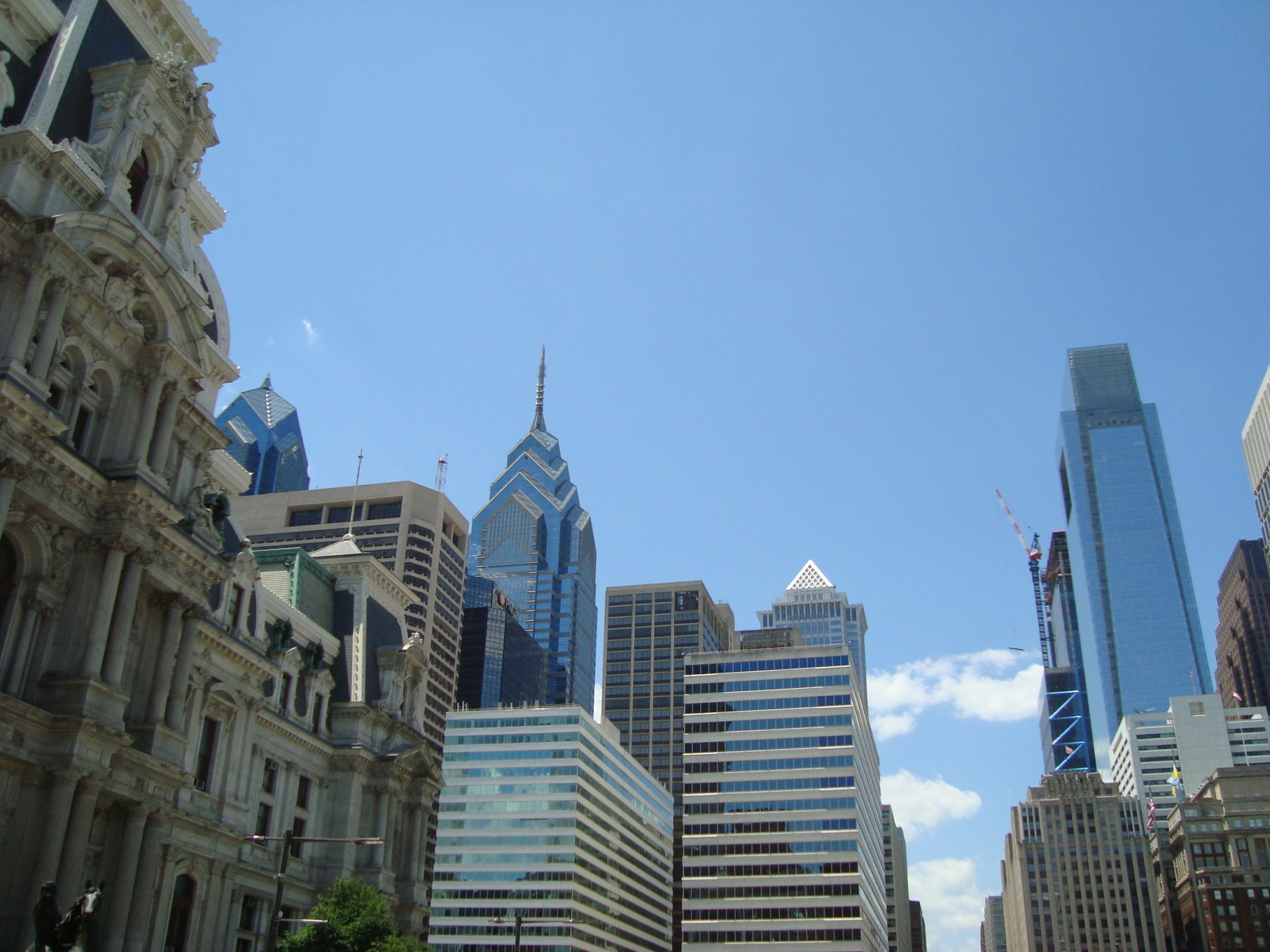 Philadephia skyline