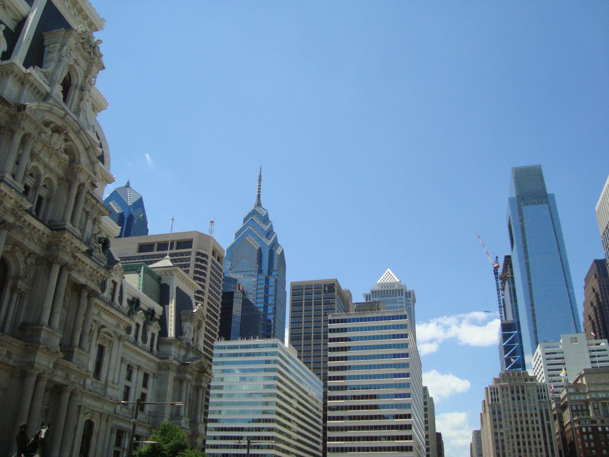 Philadephia skyline