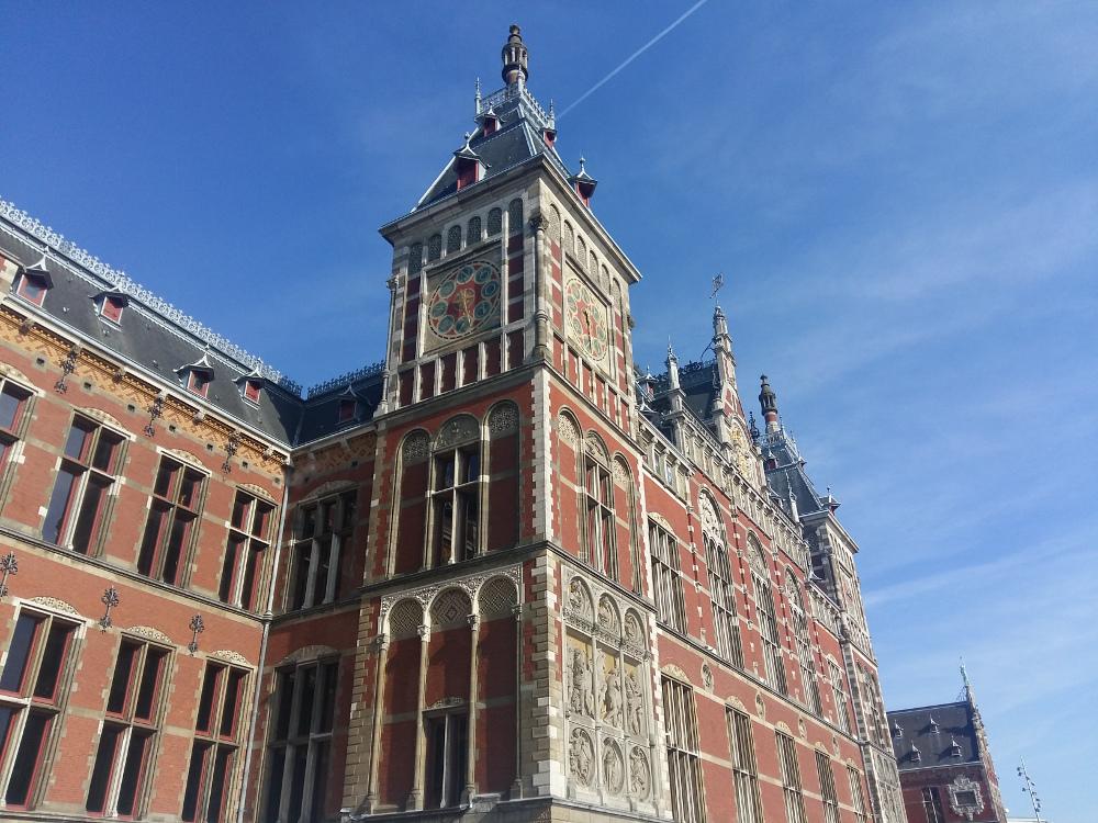 Central Train Station, Amsterdam